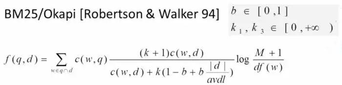 BM25算法原理